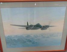 A Coulson print of a Mosquito in flight,