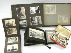"A collection of photograph albums and scrap books relating to Sergeant Major Arthur Smith ""Smudger"""