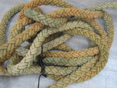 A post-war Irvin aircraft tethering rope