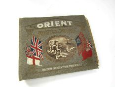 "An ""Orient Series"" Private Greeting Cards folder with a variety of examples within"