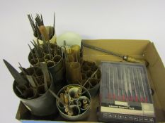 A collection of assorted needle files,