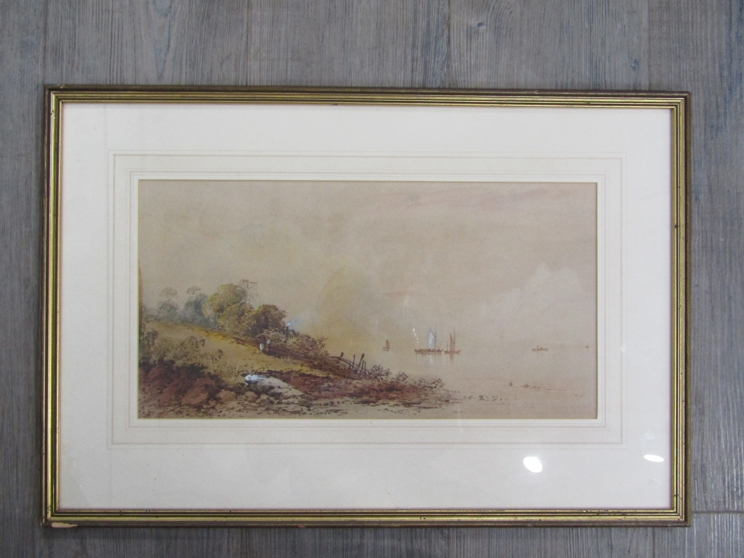 GEORGE EDWARDS HERING (1805-1879): A framed and glazed watercolour, - Image 3 of 4