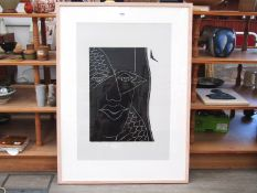 "MAZ JACKSON (XX/XXI) A framed and glazed limited edition print titled ""Shared Vision II""."