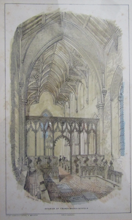33 framed and glazed prints after JK Colling and others of Norfolk & Suffolk Churches and Church - Image 4 of 4