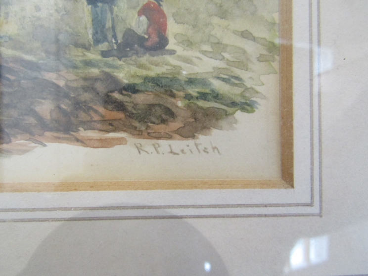 RICHARD PRINCIPAL LEITCH (c1800-1880): A framed and glazed watercolour, - Image 2 of 4
