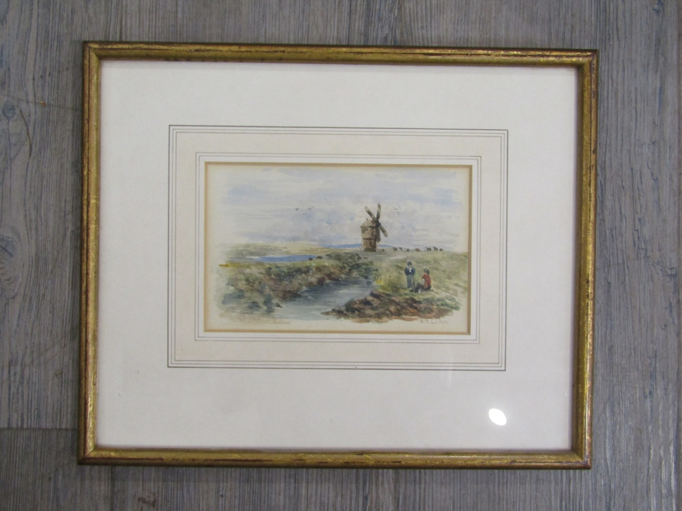RICHARD PRINCIPAL LEITCH (c1800-1880): A framed and glazed watercolour, - Image 3 of 4