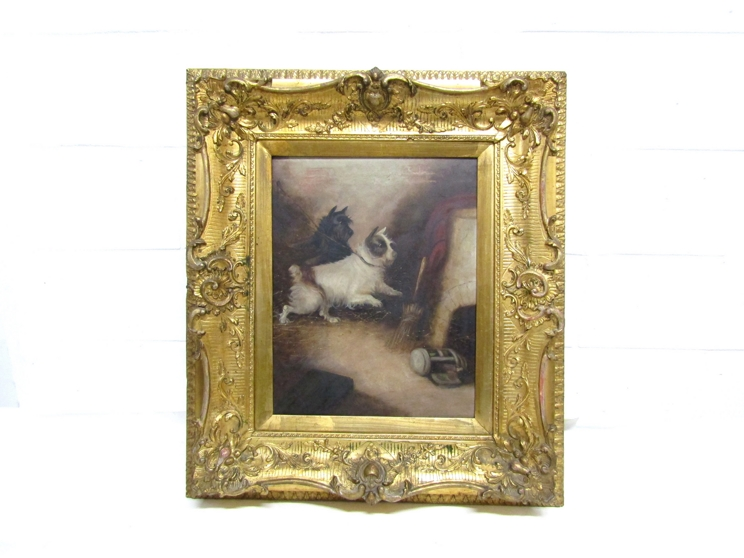GEORGE ARMFIELD (1808-1893): A pair of elaborate gilt framed oils on canvas, - Image 2 of 13