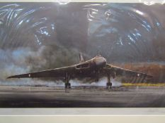 "A limited edition artist's proof print ""Vulcan Farewell"" after Michael Rondot, multiple signatures,"
