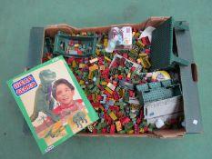 A box of Mega Bloks