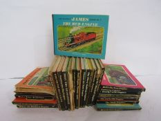 A collection of 'The Railway Series' books