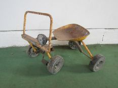 A Raleigh Ugly Bug pedal car a/f