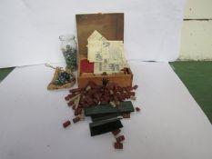 A Lotts Bricks set,