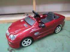 A TT Toys Mercedes plastic pedal car