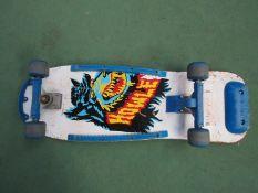 "A ""Howler"" skateboard"