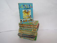 Twenty vintage Enid Blyton Noddy books