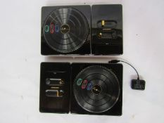 A pair of DJ Hero decks