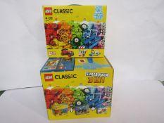A Lego Classic set 10715 and a Lego Classic 3 in 1 Super Pack (2)