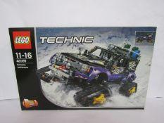 A boxed Lego Technic set 42069 Extreme Adventure