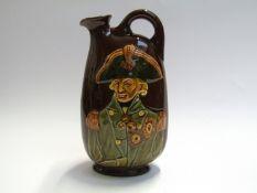 "A Royal Doulton Lord Nelson ""Dewar's Whisky"" flagon,"