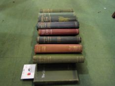 "Richard Jefferies, nine countryside/gamekeeping titles, including ""The Amateur Poacher"","