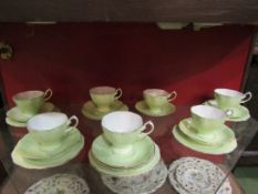 Royal Albert cups and saucers and side plates,