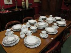 "A Noritake ""Autumn Rhapsody"" part dinner service"