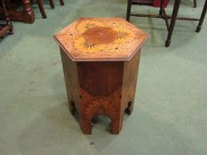 An Arts & Crafts poker work coal/log box,