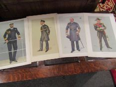 A collection of 16 antique colour lithograph prints by Spy (1869-1914) in fine condition,