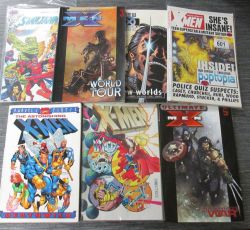Comics, Books, Toys, Die-cast and Collectables