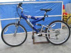 A Mountain Ridge Power Climber 18 spped bicyle