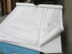 A set of full size JC Midge cut out kit car plans
