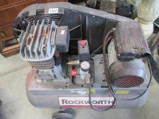 A Rockworth air compressor in good working order