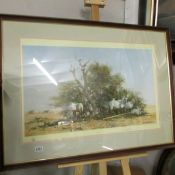A limited edition David Shepherd print entitled 'Arabian Oryx', 172/1500, signed by the artist.