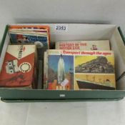 A Viewmaster with 5 carousel views and a collection of old tea cards.
