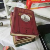 6 railway books.