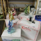 4 boxed Enchanted Figures including Infernus, Waxifrade etc.