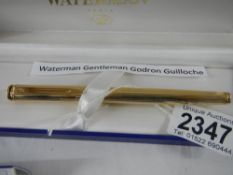 A Waterman ball point pen in box and with guarantee.