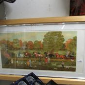 A Vincent Haddelsey (1934-2010) limited edition French artist's proof lithographic print of horse