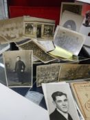 A mixed lot of old war and other postcards