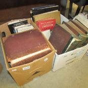 2 boxes of books including antiquarian.