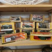 10 boxed 1970's Britain's military vehicles.