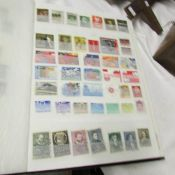 A stock book of European stamps including Netherlands, Vatican City, Spain, Portugal, Sweden etc.