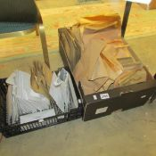 A massive lot of stamps, spares, duplicates and unsorted etc., (2 boxes).