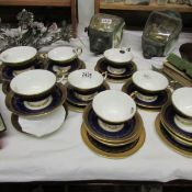 Approximately 28 pieces of Aynsley tea ware.