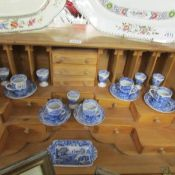 20 pieces of Spode Italian table ware.