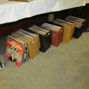 5 cases of assorted LP records.