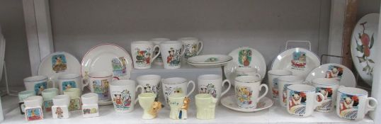 A very good collection of Sooty Keele Street Pottery items ****Condition report****