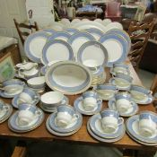 Approximately 75 pieces of Royal Doulton St. Paul's pattern table ware.