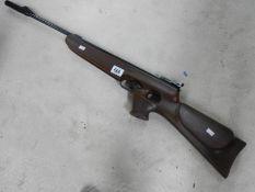 A BSA Buccaneer air rifle.