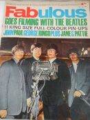 A copy of 'Fabulous' dated 16th June 1963, mainly featuring The Beatles.